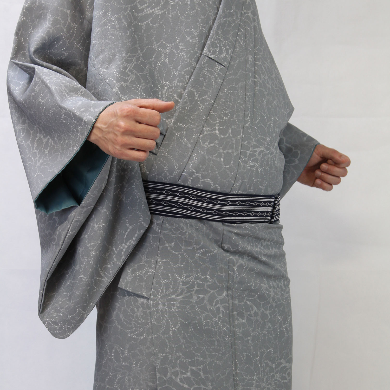 男着物の着崩れを軽減する万能ベルト