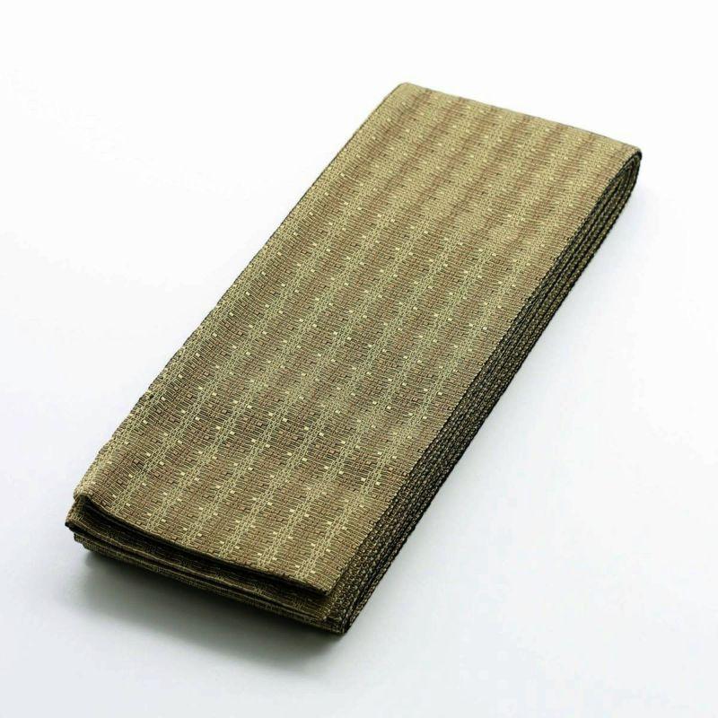 角帯 正絹 米沢織物 空海 黄金