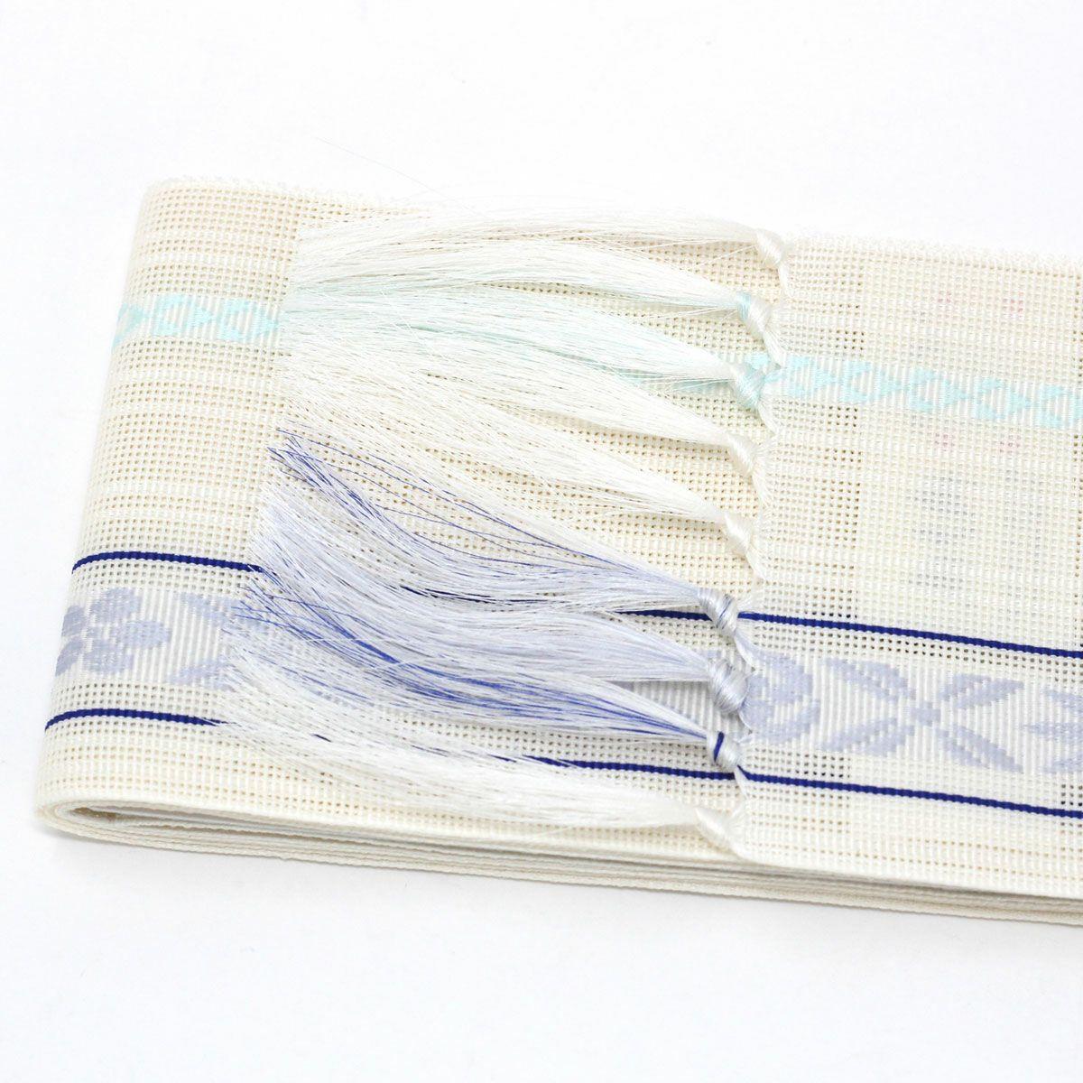 夏角帯 博多織